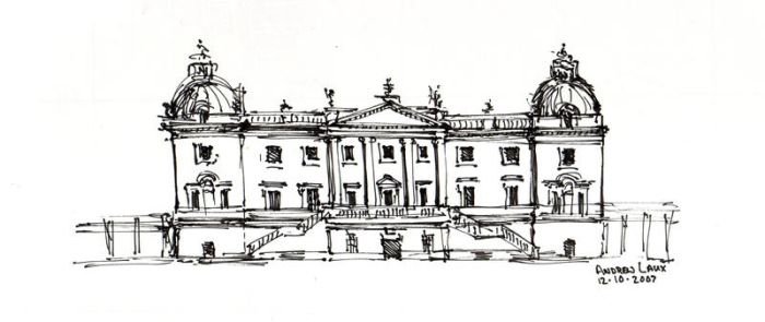 Houghton Hall by awlaux