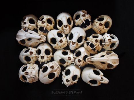 Skulls-A-Plenty by Bueshang