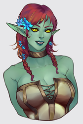 forest elf by ammatice