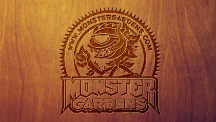 Monster Gardens Wood Wallpaper by mrchrisby