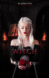 [ Wattpad Cover ] - Witch by ineffablely