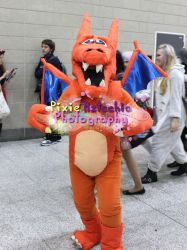 Charizard Cosplay, MCM Expo October 2013 by Pixie-Aztechia