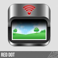 Red Dot Icon by azhvectorproject
