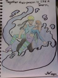 A Naruto x Irma Pic comissioned by Dragonrider626 by TheRealKyuubi16