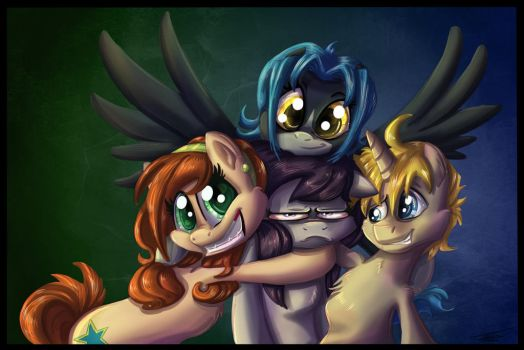 Commission - Group Photo by Pimander1446