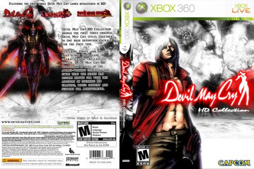 Custom Devil May Cry Collection Cover 2 360 by Billysan291