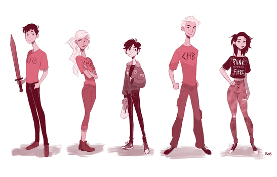 PJO crew by TheGingerMenace123
