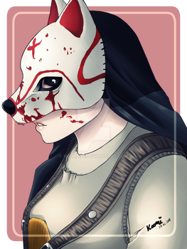 [DBD] Lunar New Year Huntress 'The Hound' by KooriChi