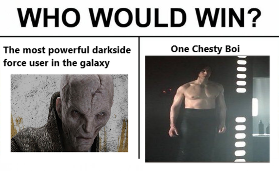 Who would win - Spoilers - The Last Jedi by DeadKnight1