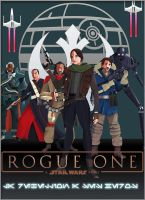 Affiche Rogue One by Aste17