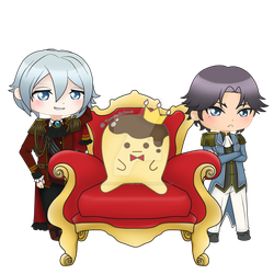 [Chibi CM 180627] Who is the true king? by ruusarutobi
