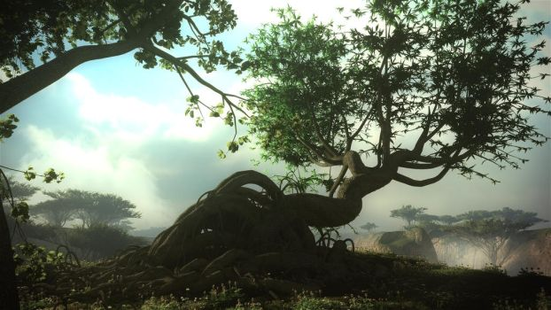 The Tree by Andywong75