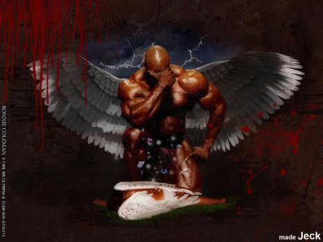 RONNIE COLEMAN   angel by Jeck-rumbo