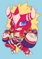 agunimon by extyrannomon