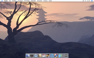 Actual Desktop - Mac OS X by AkiraNinja