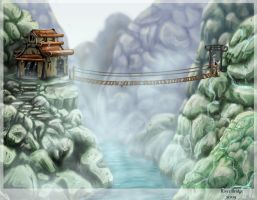 River Bridge by tsau-mia