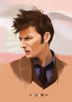 DOCTOR WHO: 10th Doctor by pierrepailhe