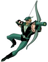 How To Draw DC Heroes - Green Arrow by TimLevins