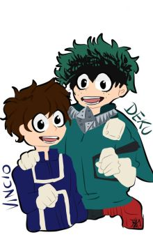 [$] .:Vincio And Deku:. by BellaSpookii