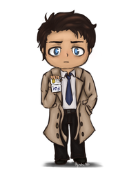 Castiel by Myvaliss