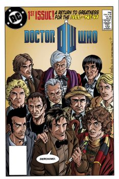 Doctor Who Justice League Recreation by ElfSong-Mat