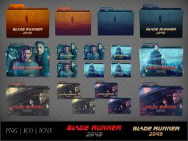 Blade Runner 2049 (2017) Movie Folder Icon Pack by DhrisJ