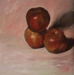 Still Life with Apples by notkristina