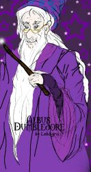 Albus Dumbledore - colour by lobagris