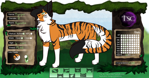 .:TSC:. [Tigerpaw of FeatherClan] by Fimblebee