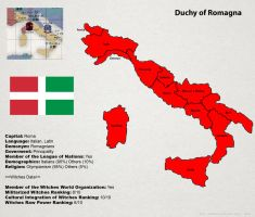 SW: Map of Romagna by ThanyTony