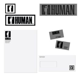 Collateral Design - Human Inc. by livewiredstudios