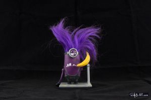 [Garage kit painting #03] Evil Minion statue - 001 by DasArt