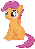 Scootaloo by Twitchy-Tremor
