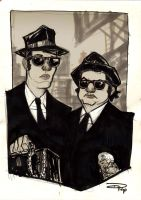 The Blues Brothers by DenisM79