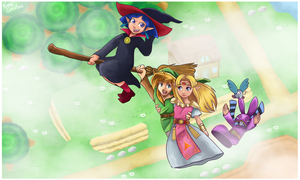 A Link Between Worlds by KameStudios