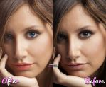 Beauty make up Tisdale by divineglamour