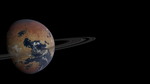Desert Planet With RIng Test 02 by 4wallforce