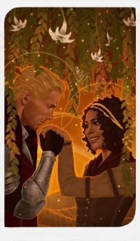 Romance Card - Cullen and Evelyn by gravity-zero