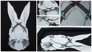 3D - Portraits: Graffiti Rabbit by SaQe