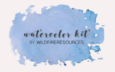 watercolor kit @wfres by wildfireresources