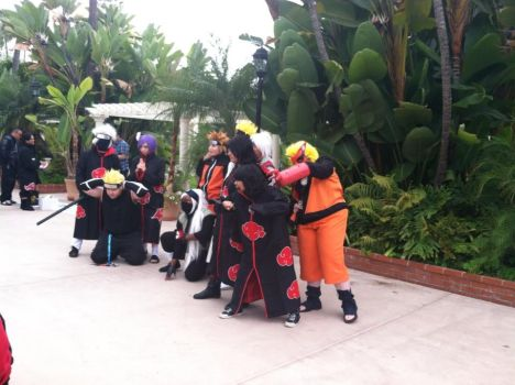 Naruto gathering day 3 at anime conji by Orbit16