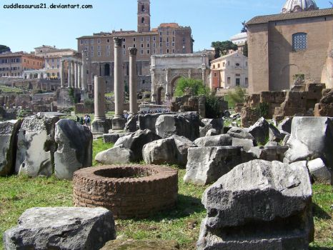 Roman Forum by cuddlesaurus21