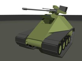 Tank for one person by A-Teivos