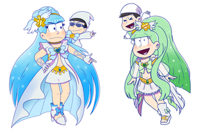 Collab: Magical Neets by Nintendrawer