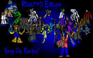 Reality's End Group Picture by MadGoblin