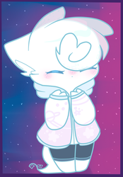 Commission for Furry-With-A-Mask | smol space furr by Quartelz