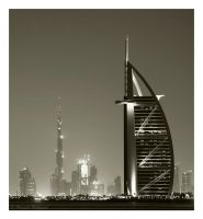 Dubai Landmark by SketchupAE