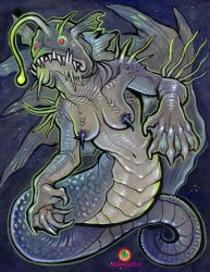 May theme: FISH MONSTERS 1 by missmonster