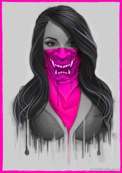 Maked Girl - Pink by Bomu