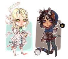 Adoptables02: +CLOSED+ by mostlyniceAdopts